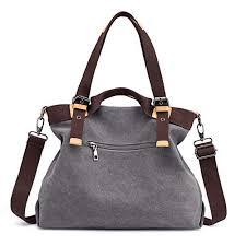 New Hampshire Womens Travel Bags images Hobo purses canvas travel womens multi crossbody pocket handbags jpg