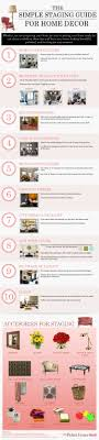 home decor infographic the simple staging guide for home decor visual ly