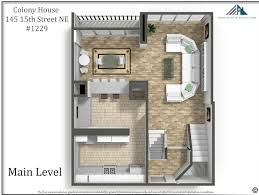 The Ansley Floor Plan Colony 1229 Metro Atlanta Real Estate Specialist