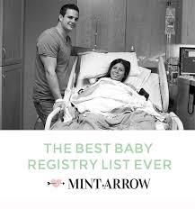 top baby registry the best baby registry list mint arrow