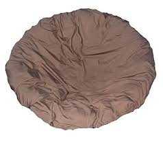 papasan chair cover brown papasan cushion cover home kitchen
