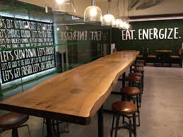 restaurant high top tables rustic communal table coma frique studio 866c58d1776b