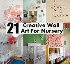 Nursery Diy Decor Nursery Wall Decor Ideas Best Idea Garden