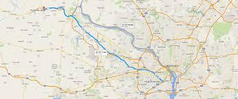 Highway Map Of Virginia by Leesburg U0027s First On Street Bicycle Lane Wells Associates