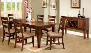 Wooden Dining Room Set How To Set A Dining Room Table