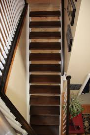 how to stain unfinished pine staining pine stair treads tempting thyme