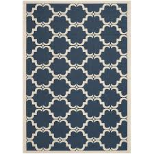 Overstock Outdoor Rug by Amazon Com Safavieh Courtyard Collection Cy6009 268 Navy And