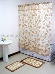 Bathroom Rug And Shower Curtain Sets Bath Rug Shower Curtain Set Bath Rug Shower Curtain Set