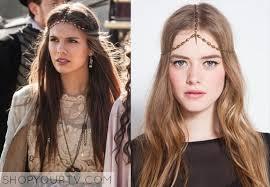reign tv show hair beads reign season 1 episode 1 kenna s spike headpiece shop your tv