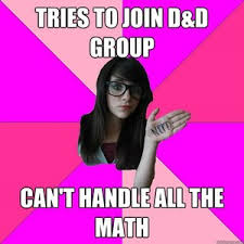Math Nerd Meme - we re not unicorns we exist how the fake geek girl concept