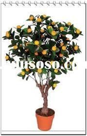 newest design decorative artificial orange fruit tree plants