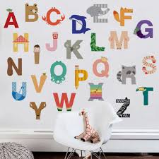 scholastic summer picks wall stickers and posters alphabet wall stickers in size large w1097 include separate wall stickers for each letter of the
