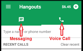 hangouts app android design critique hangout android app information