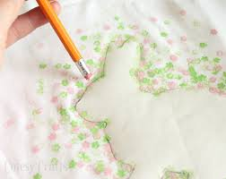 Diy Easter Decorations With Paper by Eraser Stamped Easter Bunny Shirt Cutesy Crafts
