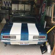 68 camaro project car for sale 1967 camaro coupe project for sale no reserve buy it now
