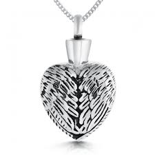 ashes locket wings ashes locket personalised stainless steel