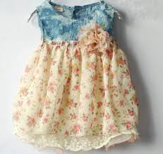 ready for shipping newborn denim dresses for 0 3 months 4 6
