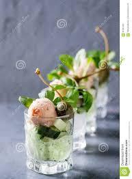 cuisine de a à z verrines verrines with salmon pate stock image image of creme 91391495