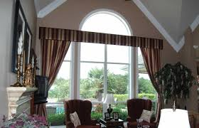 Curtains For A Large Window Inspiration Window Treatments For Large Windows With Stripe Curtains And