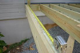 decks com deck rail post attachment