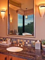photo page hgtv southwestern bathroom vanity lights tsc