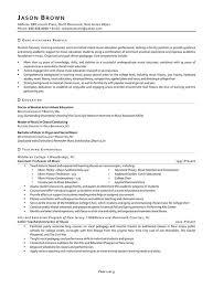 Sample Resume For Adjunct Professor Position by Education Resume Examples Resume Professional Writers