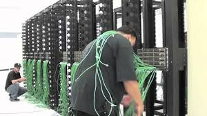 cabling a softlayer data center server rack youtube
