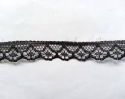 black lace ribbon black lace ribbon etsy