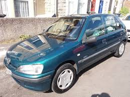 peugeot 106 zest 2 5 door petrol british racing green in st