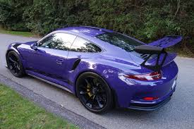 purple porsche 911 turbo certified pre owned 2016 porsche 911 gt3 rs