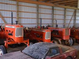 thomas r hunt auctioneers allis chalmers collector tractor auction
