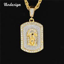 hip hop necklace images Uodesign hip hop necklace mens nightclub crystal hiphop rap dacing jpg