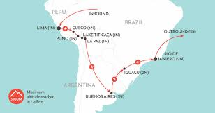 Map Of Peru South America by Best Of South America South America Tour Wendy Wu Tours