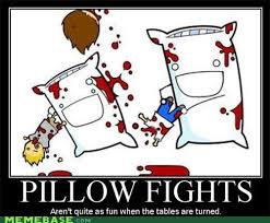 Pillow Fight Meme - memebase very demotivational all your memes in our base