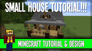 Small House Minecraft Small House Tutorial Easy But Classy Minecraft Youtube