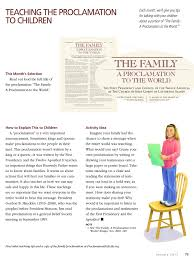 family proclamation family proclamation archives teaching lds children