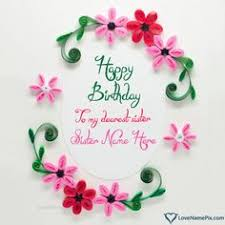 birthday card messages for with name photo happy birthday
