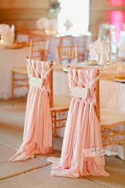chiffon chair sash braided blush pink chiffon chair sash arcadia designs