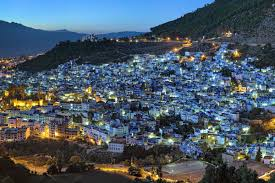 blue city morocco the city of chefchaouen in morocco is painted blue business insider