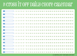 8 best images of free printable chore list printable chore chart