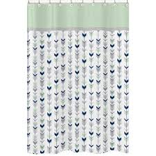 Grey Shabby Chic Curtains by Give Your Bathroom A Makeover In Minutes With This Blue Green