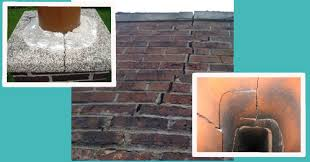 Fireplace Flue Repair by Cracked Chimney Repairs Montgomery County Pa Wells
