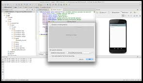 beginning android development part one installing android studio