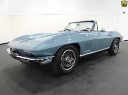 1966 corvette trophy blue 1967 chevrolet corvette 70920 trophy blue convertible 327