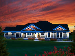 one story craftsman home plans craftsman home plans sprawling one story craftsman house plan