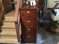 Antique Wood File Cabinet Antique File Cabinets Ebay