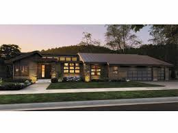 Contemporary  Story House Plans - 1 story home designs