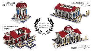 Parthenon Floor Plan Lego Ideas Level 9 The World Builds Anew The Infinitely
