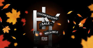our thanksgiving sale starts today get gravity for 80