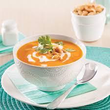 cuisine de coco crème à la courge et lait de coco recettes cuisine et nutrition